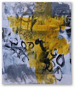 unitled series memento mixed media on photographs 17 x 15 cm