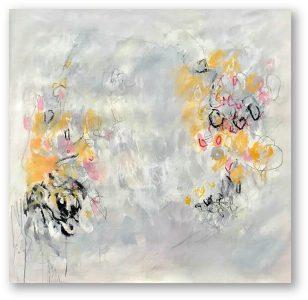 Buongiorno Primavera, 2020, mixed media on canvas, 125 x 140 cm