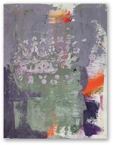 untitled no. 7, mixed media on canvas, 38 x 29 cm